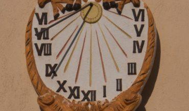 Rellotge de sol del Sr. Salvador Sensada