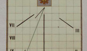 Rellotge de sol del Sr. Pere Maymó