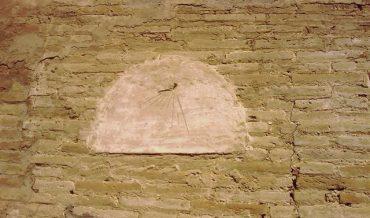 Rellotge de sol de la cabana del pou de can Vilar