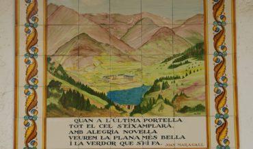 Plafó de la La Vall de Núria