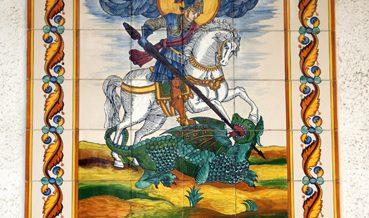 Plafó de Sant Jordi