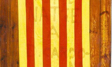 """Bandera de la """"Marxa de la Llibertat"""""""