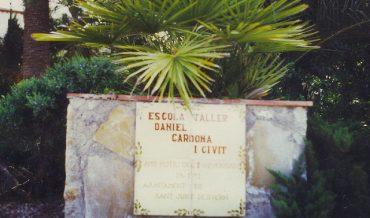 Placa Tallers Ocupacionals Daniel Cardona i Civit