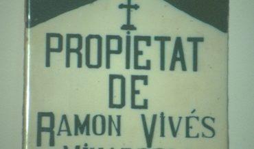 Rajol de nínxol de cementiri