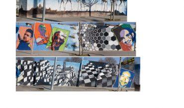 Murals a la Rambla de Sant Just i carrer Major (2on. de 2)