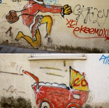 Grafits del carrer Badó