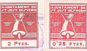 Segells Ajuntament de Sant Just Desvern