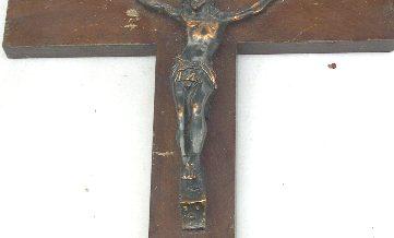Sant Crist de visitar malalts de Mn. Antonino Tenas