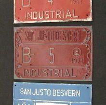 Matrícules industrials