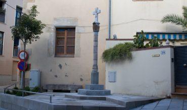 Creu de terme del Raval (restaurada)