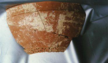 Tros de ceràmica (colador)