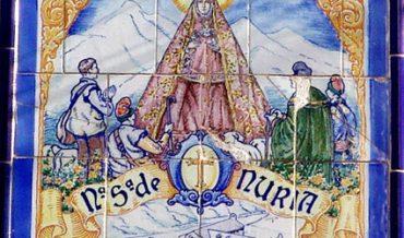 Plafó de la Mare de Déu de Núria