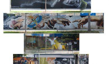 Murals a la Rambla de Sant Just