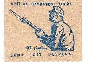 Segell d´impost de guerra local