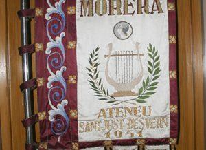 """Senyera de l'orfeó """"Enric Morera"""