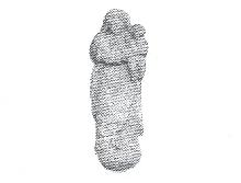 Estatueta de la creu de terme del Raval