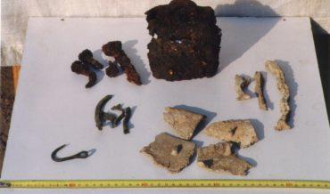 Metalls trobats a l'habitació romana