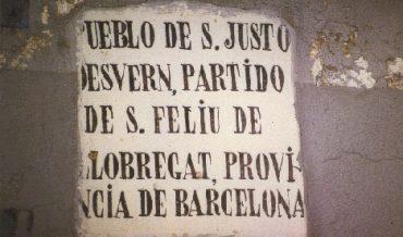 """Placa """"Pueblo de San Justo"""""""